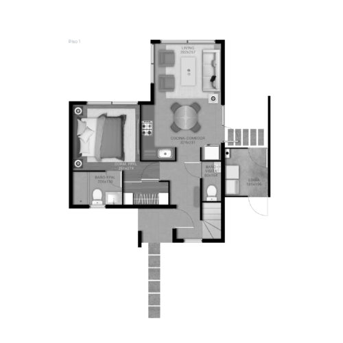 Primer piso Casa 69 / Portal de Machalí - Socovesa