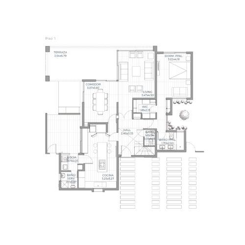 Primer piso Mediterránea 151 / Alkura - Socovesa