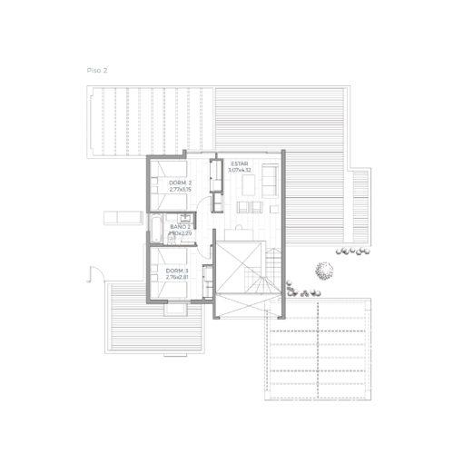 Segundo piso Mediterránea 163 / Alkura - Socovesa