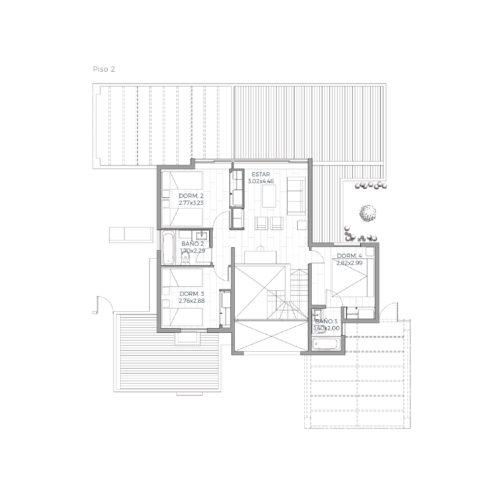 Segundo piso Mediterránea 179 / Alkura - Socovesa