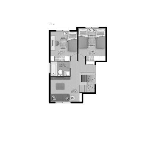 Segundo piso Casa 99 / Portal de Machalí - Socovesa