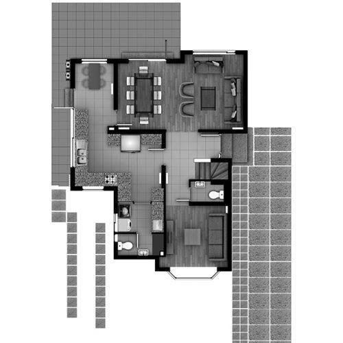 Condominio Torobayo Casa-129 piso1