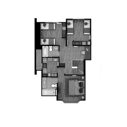 Condominio Torobayo Casa-129 piso2
