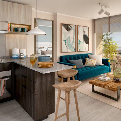 Cocina Integrada - Novo Urbano