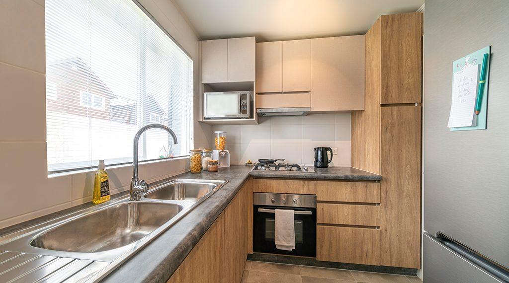 Cocina - Casa 68m2, Valle los Notros