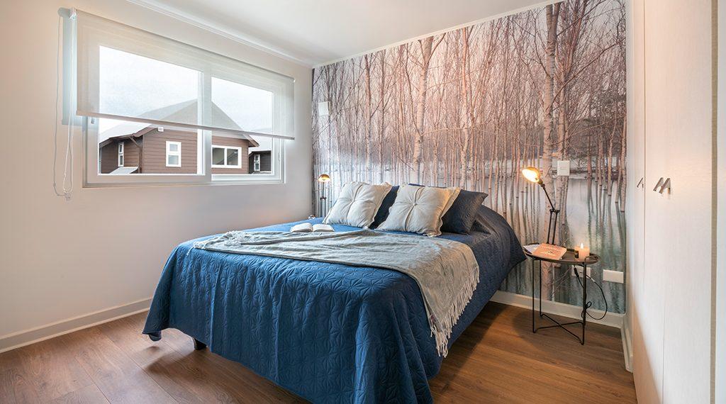 Dormitorio Principal - Casa 68m2, Valle los Notros
