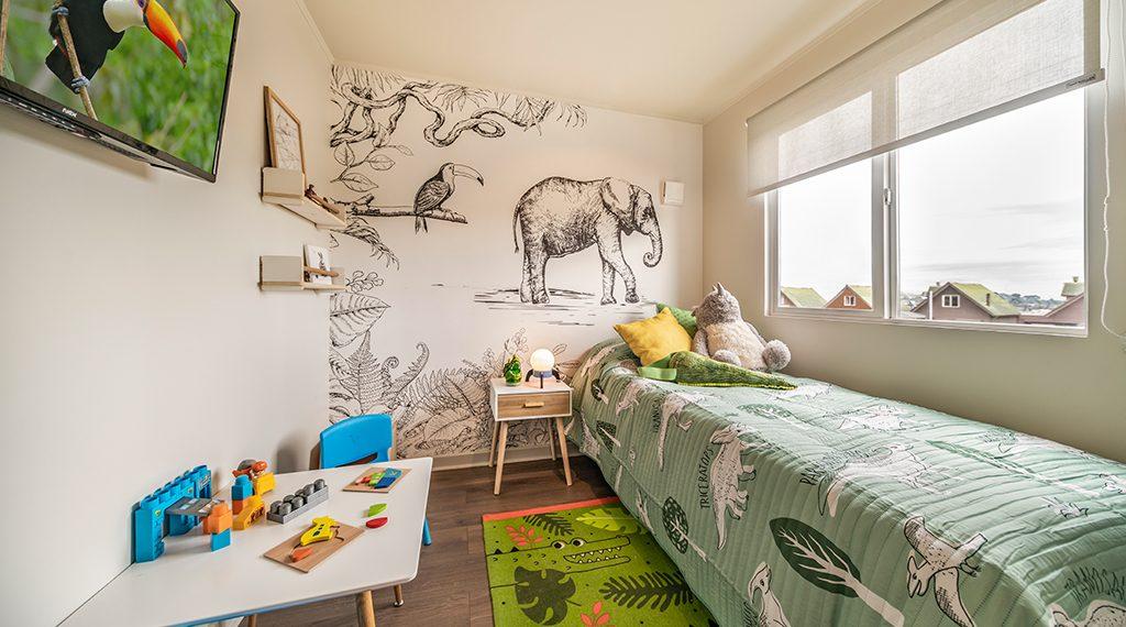 Dormitorio Niño - Casa 68m2, Valle los Notros