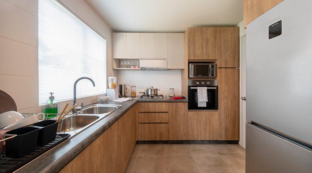 Cocina - Casa 80 m2 Valle los Notros