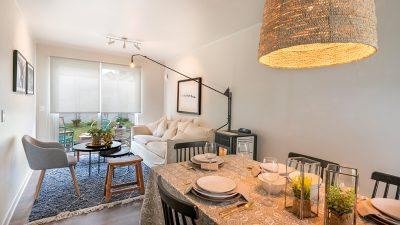 Living Comedor - Valle los Notros - Casa 80