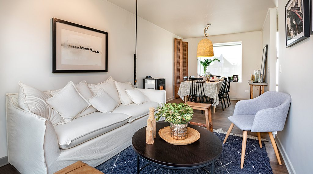 Living Comedor - Casa 80 m2, Valle los Notros