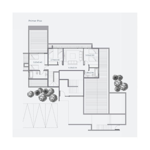 Primer piso Casa 304 / Casa Híbrida - Socovesa