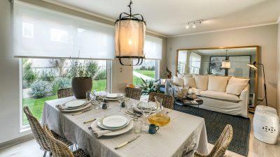 Alto Castaño - Living comedor casa 102