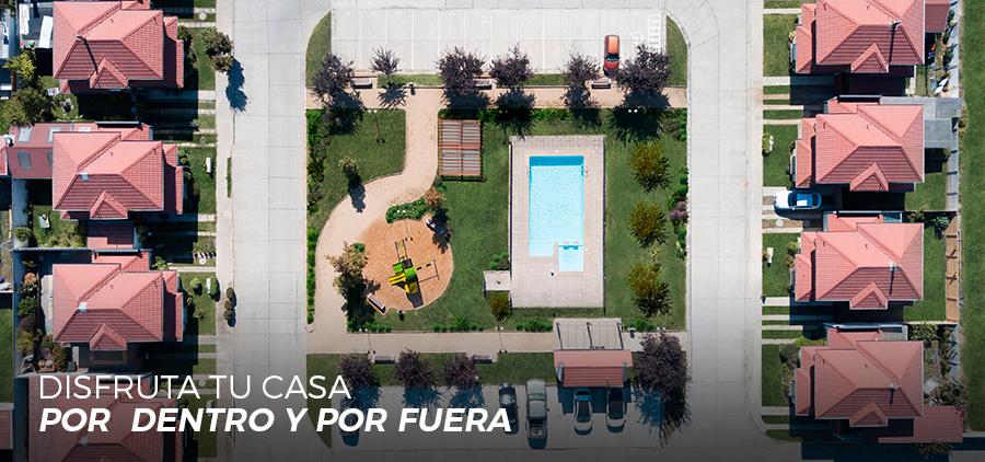 Condominio Los Sarmientos - áreas verdes